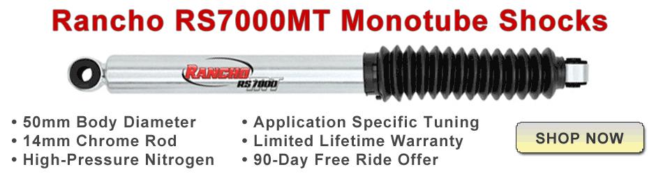 Rancho RS7000MT Monotube Shocks