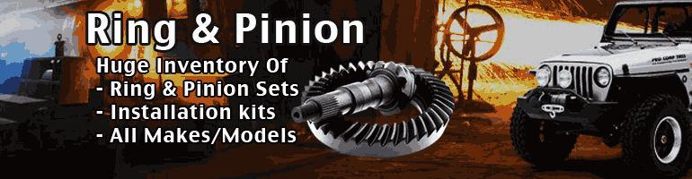 Ring and Pinion Gear Sets